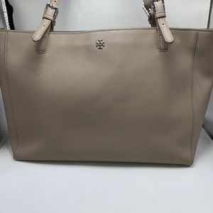 Tory Burch large York Buckle Leather Tote